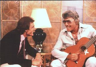 Carl Perkins and Jerry Foster, CMT interview 1983